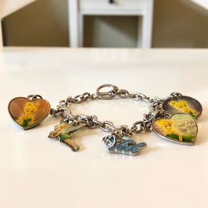 Tinkerbell Detachable Charm Bracelet